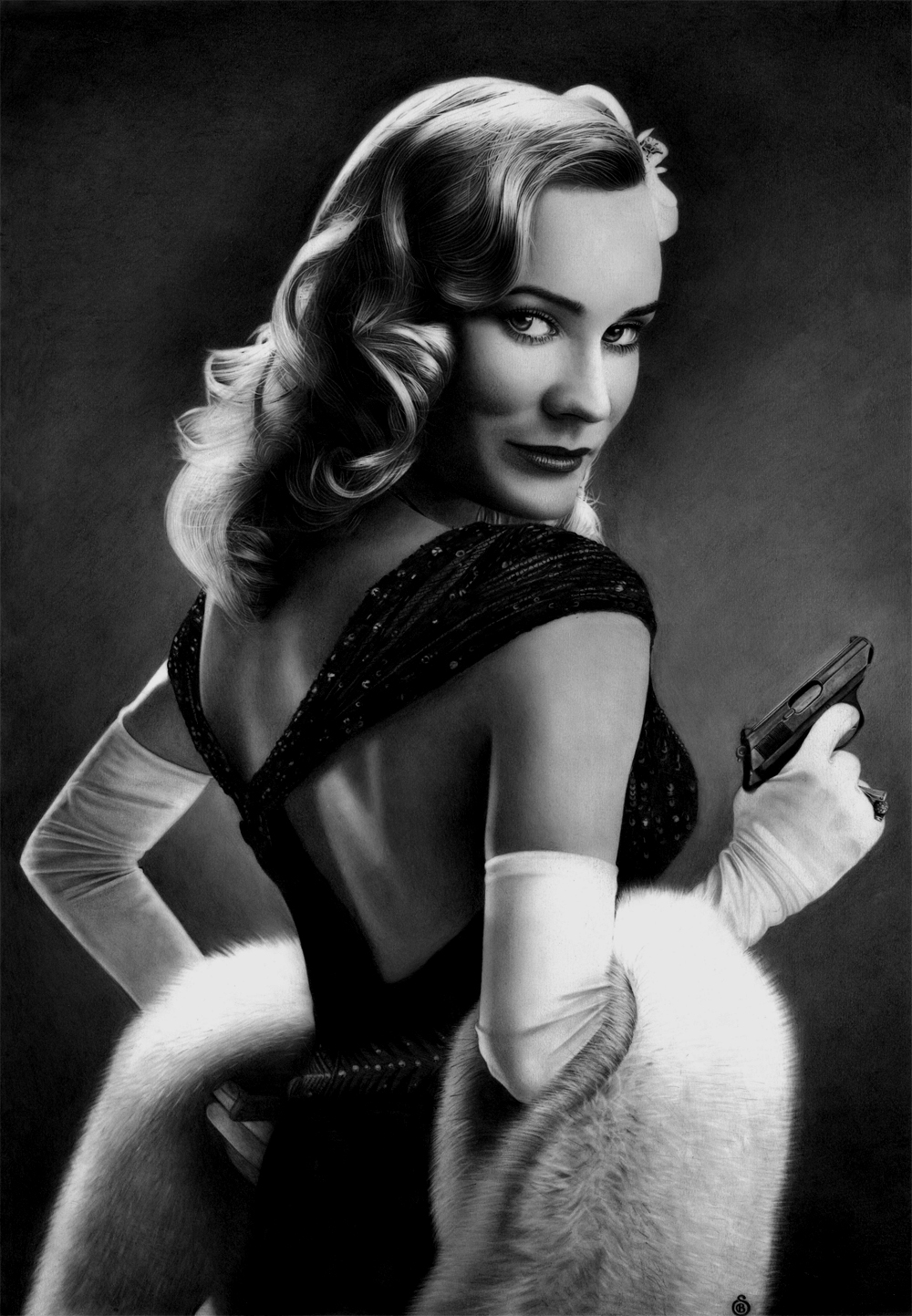Diane Kruger - Inglourious Basterds by Stanbos