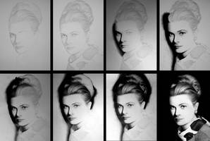 - Grace Kelly - WIP by Stanbos