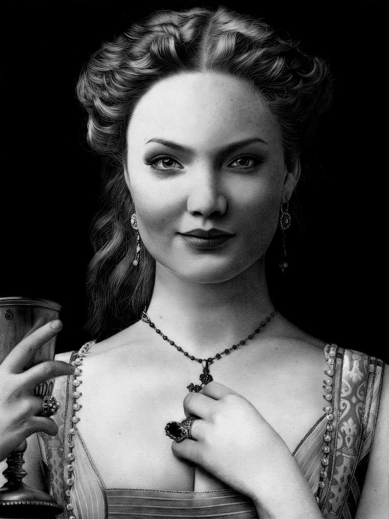 Lucrezia Borgia by Stanbos