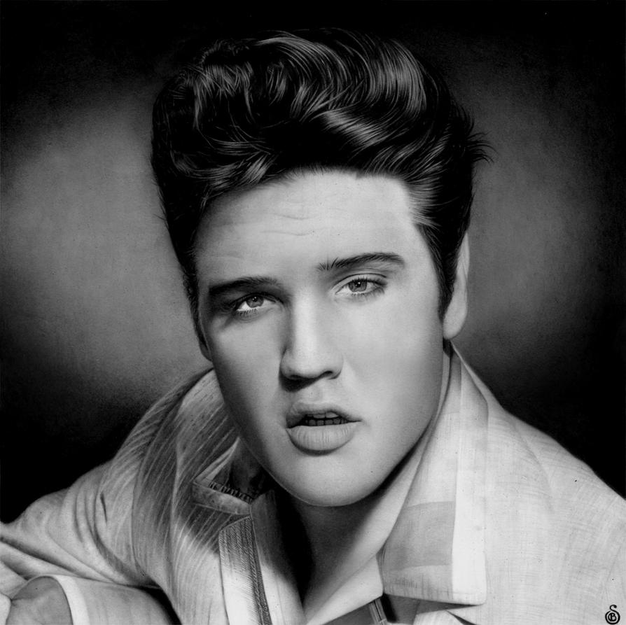 Elvis Presley by Stanbos on DeviantArt