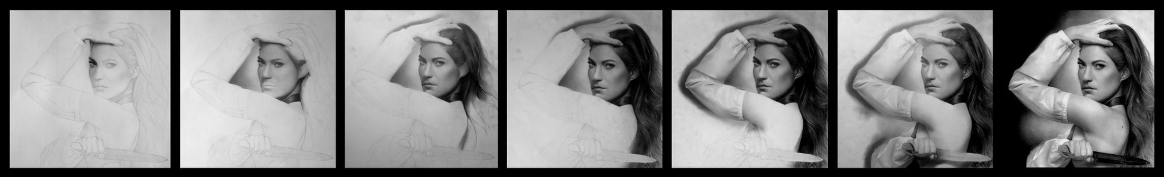 Debra Morgan - WIP by Stanbos
