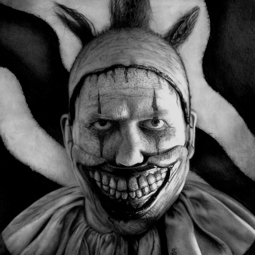ahs freak show twisty the clown by stanbos on deviantart