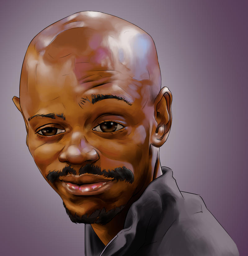 Dave Chappelle by gigijhonson