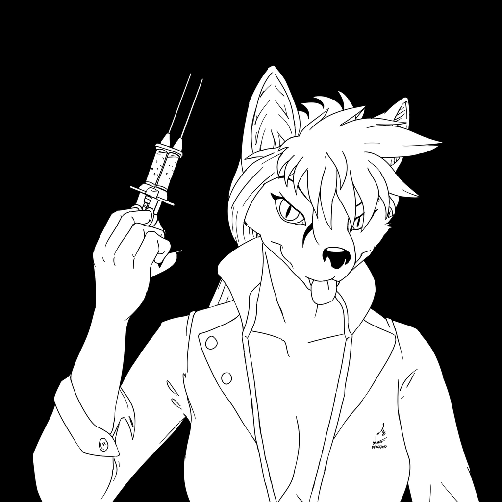 Inktober 3 'Poison' - The Doctor Will See You Now by prdarkfox