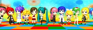 Cast For MMD Comic(s)