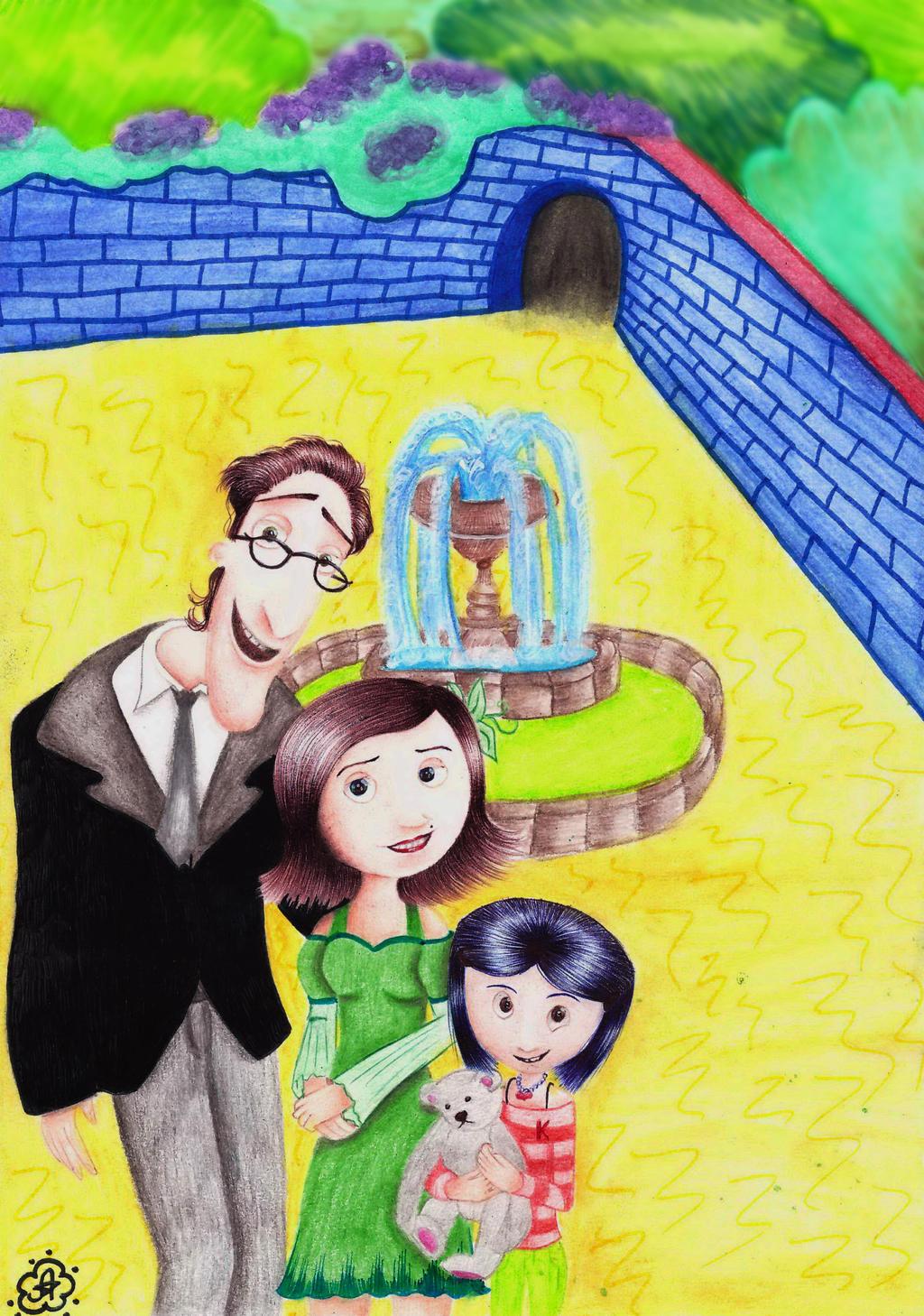 Coraline My Family By 7 Annita 7 On Deviantart