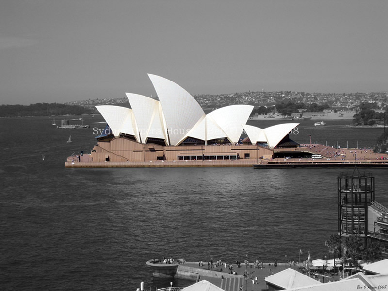 Sydney Opera House by benoregan