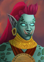 Zandalari Troll by ardentika