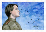The Soldier from Treptower Park by Walkuere