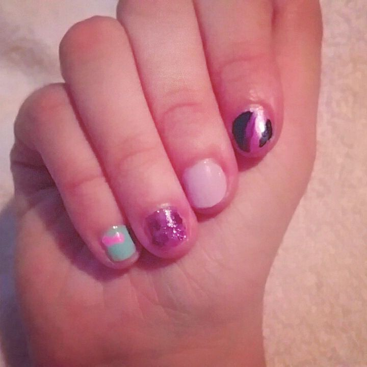 Eqg Twilight Sparkle Nail Art By Therainbowmaiden On Deviantart