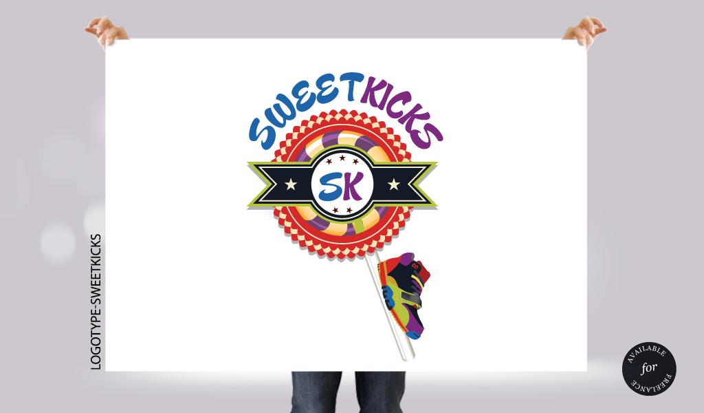 Logotype-sweetkicks by RiegersArtistry