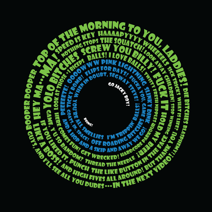 Septic Eye Typography by Psijay