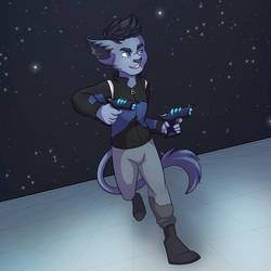 his aesthetic is just robots in space by Psijay