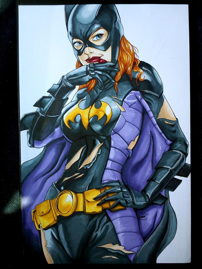 Batgirl by m3m0iv