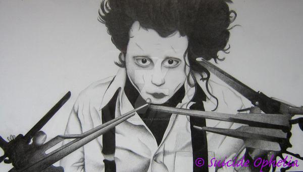 Edward Scissorhand by SuicideOphelia