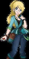 Azami - Pokemon Trainer OC by YukiDemon
