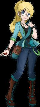 Azami - Pokemon Trainer OC