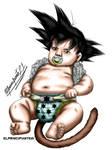 Baby Goku by jeancarlos22