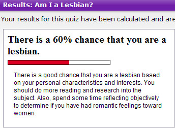 Quiz are you a lesbian