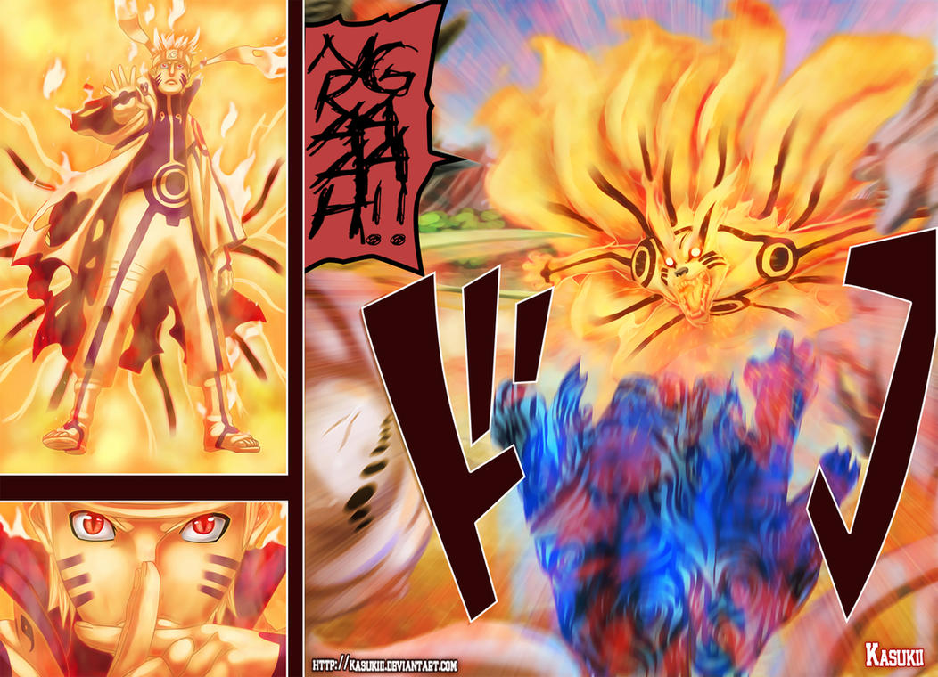 Naruto 571 New power by Kasukiii
