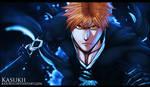 Bleach 499 : Ichigo by Kasukiii