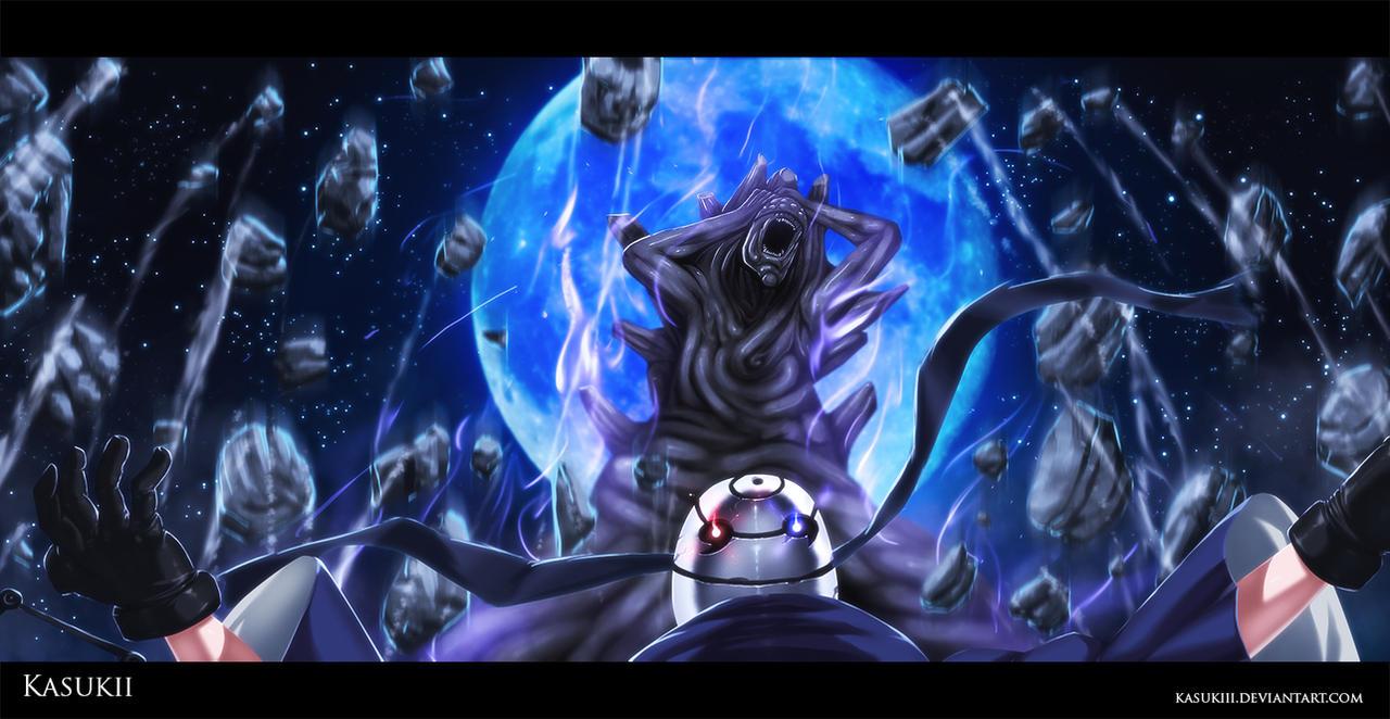 Naruto 594 : Infinite tsukuyomi by Kasukiii