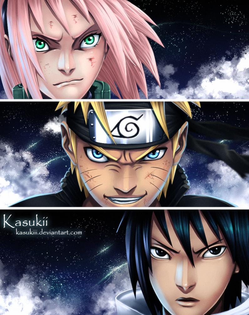 Team 7 ! by Kasukiii