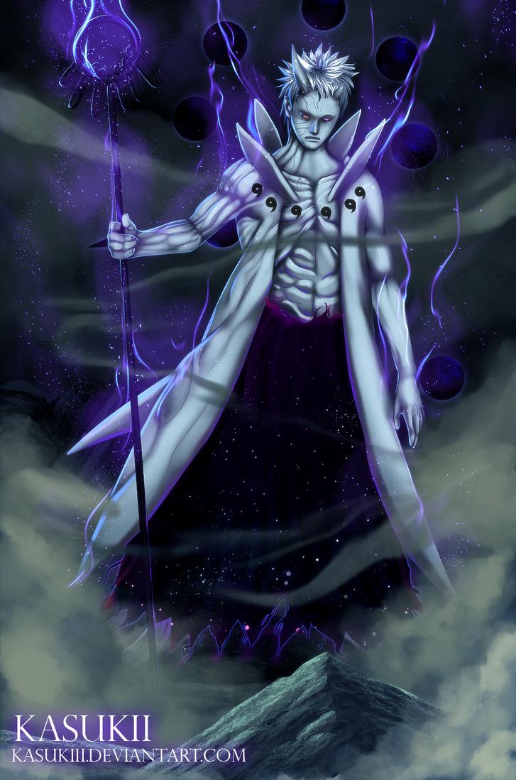 Naruto 640 Final form by Kasukiii