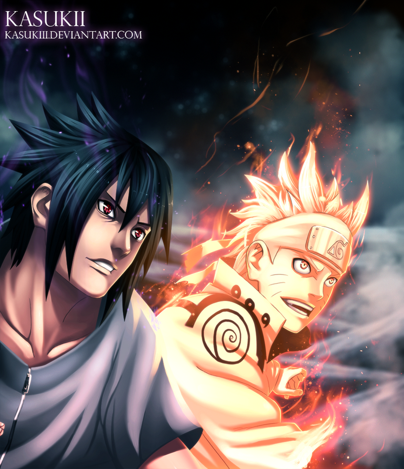 Naruto 641 : Smile by Kasukiii