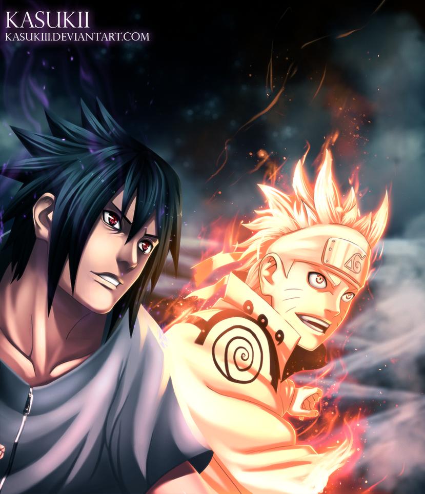 Naruto 641 : Smile by Kasukiii