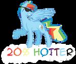 20% Hotter