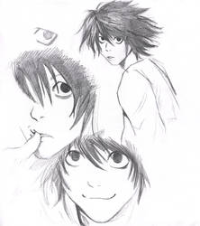 Death Note: L by MargotG
