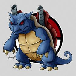 Pokemon 009 Blastoise