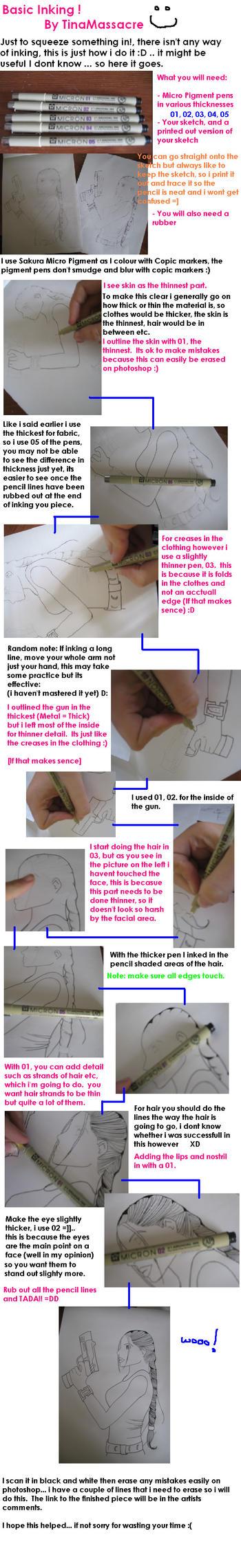 Tutorial 02 - Basic Inking by TinaMassacre