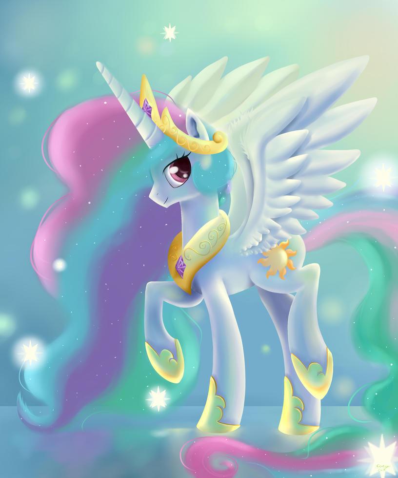 Princess Celestia by CarligerCarl