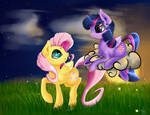 Fluttershy and Twilight