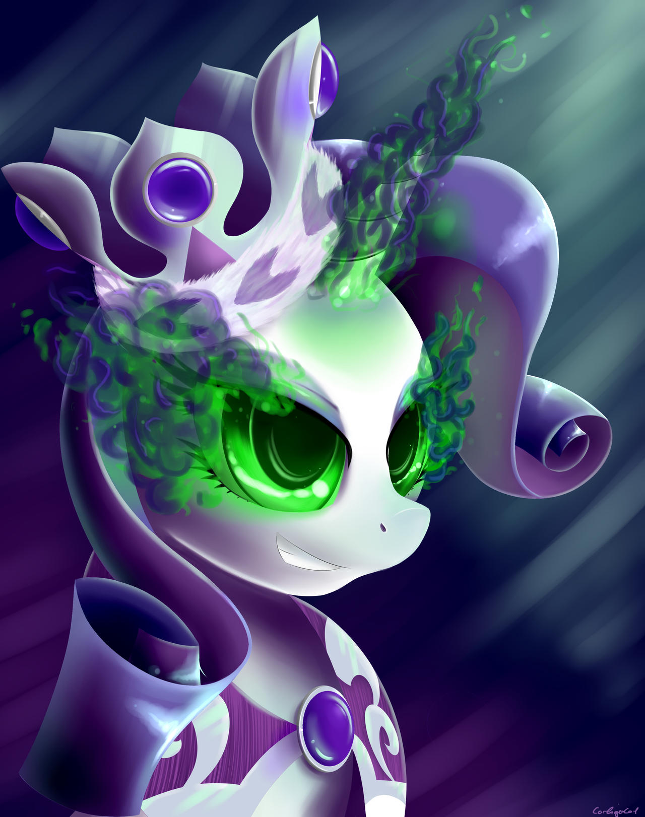 Corrupted Princess by CarligerCarl