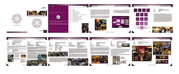 Company Profile Yamaha Music by siponiketchil