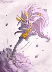 Pony Kick by Luzleimoon
