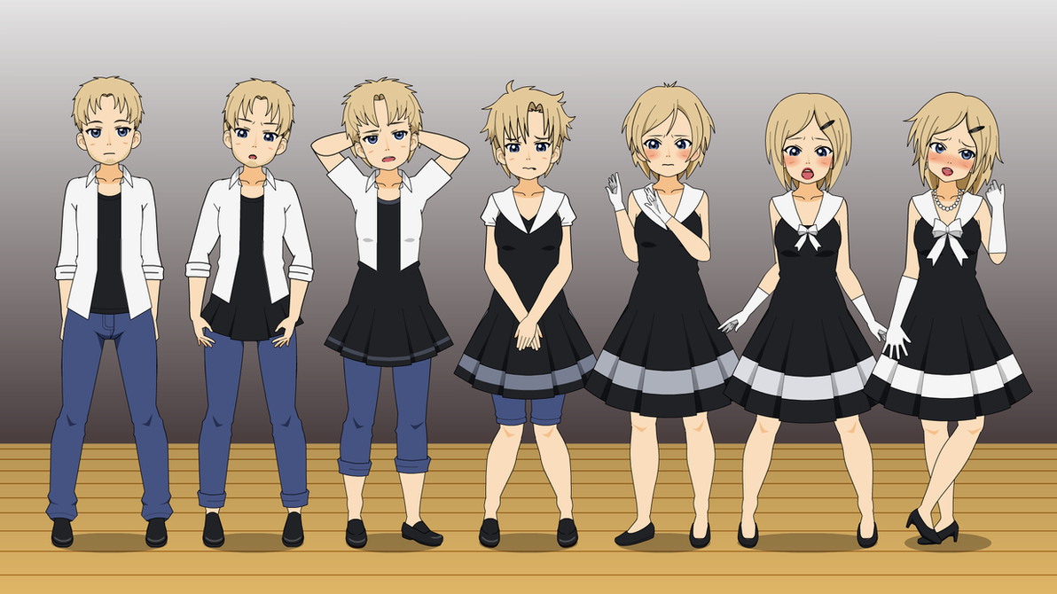 Black Dress : TG Sequence by eppuzoha