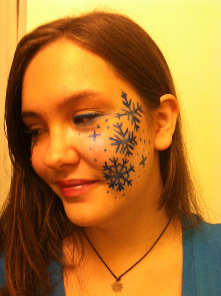 Snowflake Makeup Design By Therandomthings On Deviantart