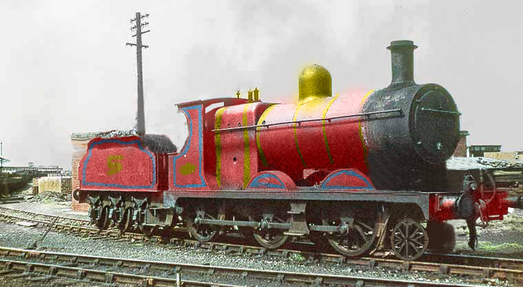 Realistic James The Red Engine By Thelogocooler On Deviantart