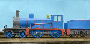 Realistic Edward the Blue Engine by TheLogoCooler