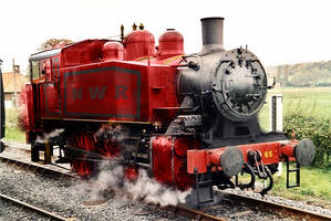Realistic Rosie the Lavender Engine by TheLogoCooler