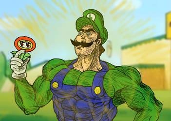 Mario Super Show Screenshot Redraw (2021)