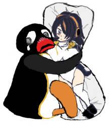 Pingu and the Waifu