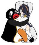 Pingu and the Waifu by TheLogoCooler