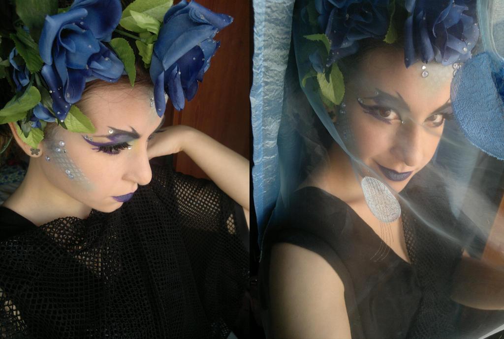 Mermaid  Dark by SelyaMakeup