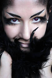 Queen Crow Makeup by SelyaMakeup