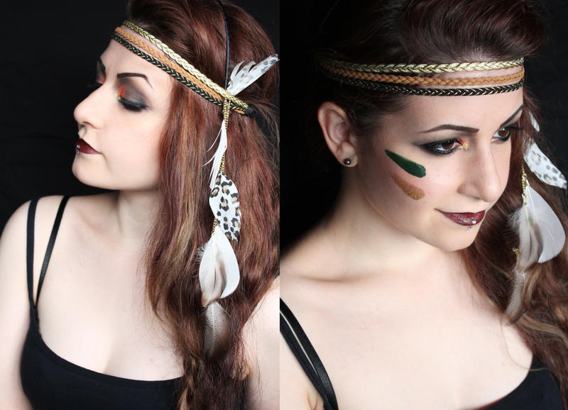 Indian Makeup by SelyaChan